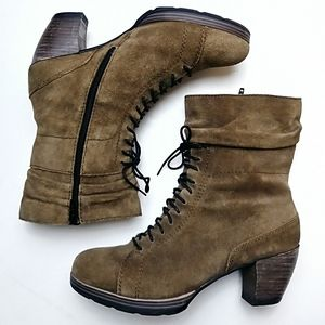 WOLKY Lace Up Booties